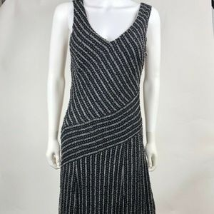 ECI New York Size 6 Asymmetrical Shift Dress